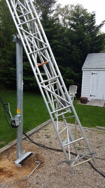 N2KNL | ALUMA TOWER Model T-50HN